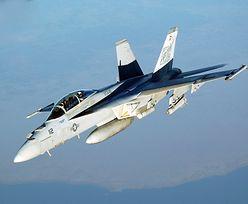 Katastrofa amerykańskiego myśliwca w pobliżu Okinawy