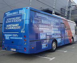 """Kolejny """"PiS-bus"""" ruszy w Polskę. Tym razem będzie promować """"Piątkę Kaczyńskiego"""""""