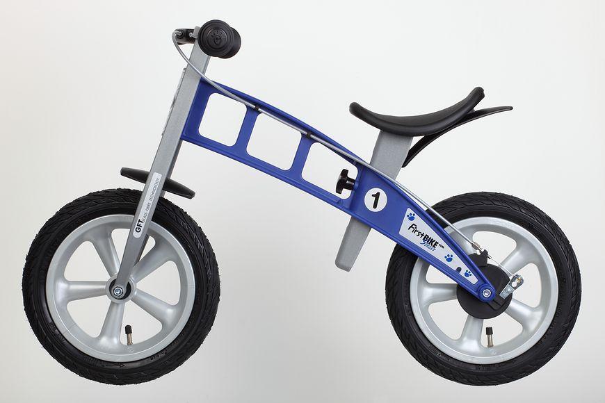 Niebieski rowerek biegowy