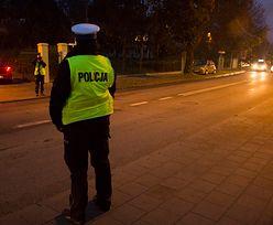 Warszawa. BMW rozbite. Kierowca był poszukiwany 22 lata
