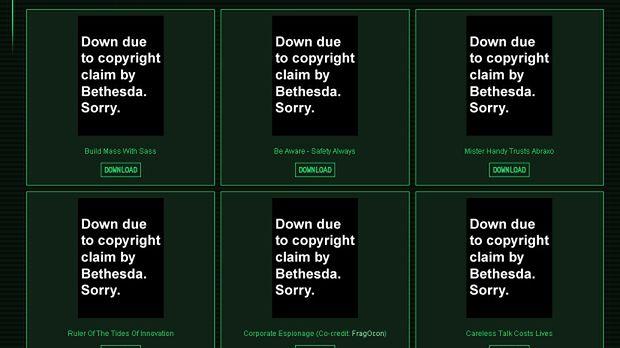 Prawnicy Bethesdy kontratakują - tym razem męczą pozwami fanowską stronę z grafikami inspirowanymi Falloutem