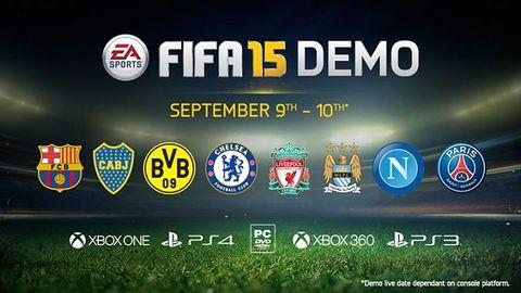 FIFA 15: demo już jest. Albo będzie jutro