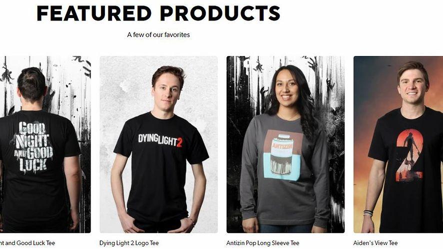 Techland otworzył sklep. Na pokładzie gadżety z Dying Light 2