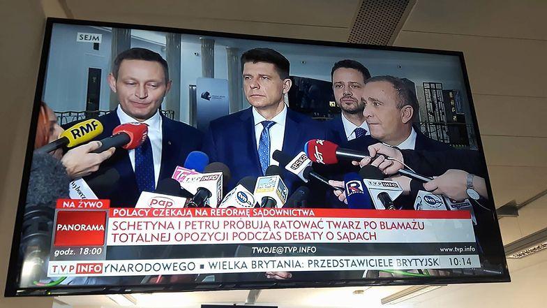TVP Info w swoim stylu podsumowało ogłoszenie przez opozycję wspólnego kandydata na prezydenta Warszawy.