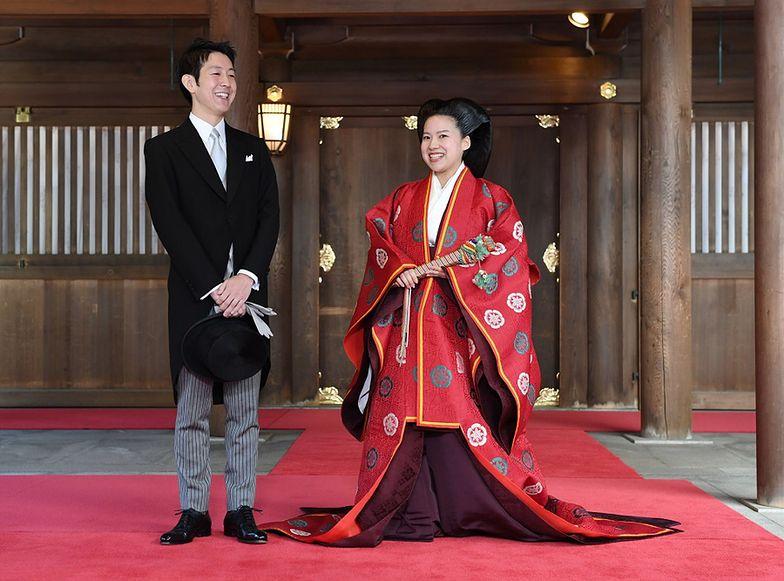 Japońska księżniczka zrzekła się królewskiego statusu dla miłości