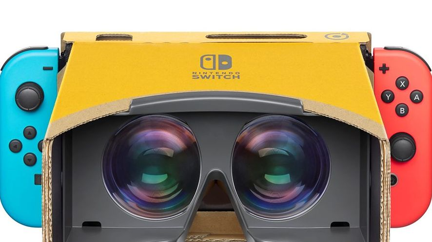 VR dociera do Switcha!