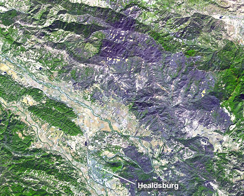 Zdjęcie NASA z 3 listopada ujawniło ogrom katastrofy na Ziemi