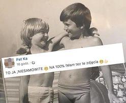 """Marcin znalazł Patrycję po 40 latach. """"Bawiliśmy się na kupie węgla"""""""