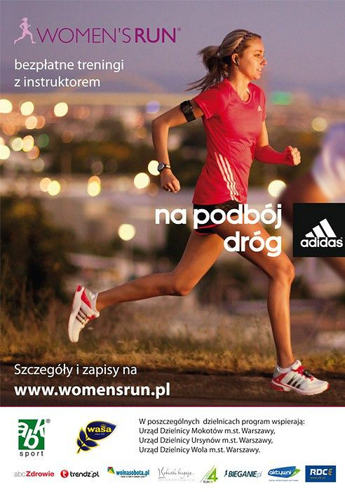Plakat Women's Run
