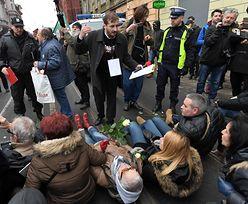 Ekscesy na marszu w Łodzi. Obywatele RP zakłócili demonstrację