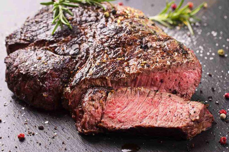 stek mięso