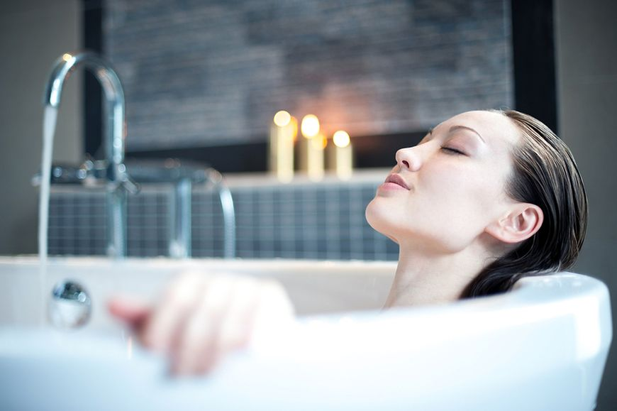 Kąpiel relaksująca