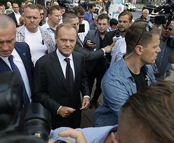Donald Tusk zeznaje w prokuraturze