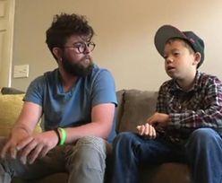 Chory chłopiec znalazł dom u swojego nauczyciela