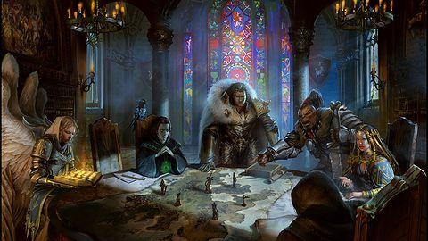 Tak, na obrazku z Might & Magic: Heroes VII naprawdę znajduje się obraz Jana Matejki