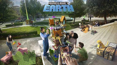 Minecraft Earth przeniesie nas bezpośrednio do świata Minecrafta