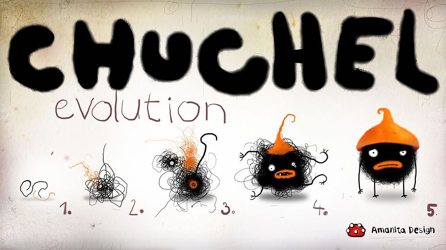 Piąteczek na zwiastunie - oto Chuchel od Amanita Design