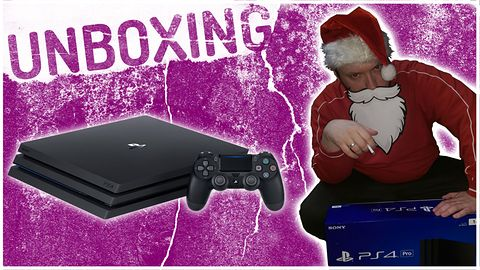 Sony PlayStation 4 Pro 1TB Unboxing