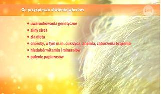 Siwienie włosów efektem stresu - znasz to? (WIDEO)