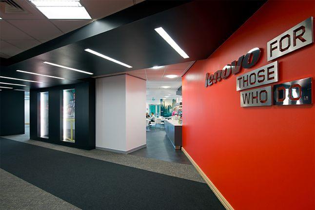 Biuro Lenovo w Hook, retaildesignblog.net