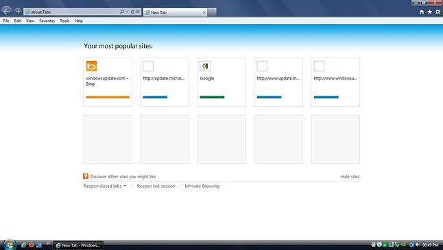 Internet Explorer 9: ostatnia wersja IE dostępna dla Visty