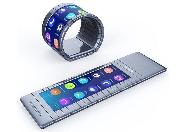 Tak będzie wyglądał Moxi, czyli pierwszy elastyczny smartfon z grafenu?