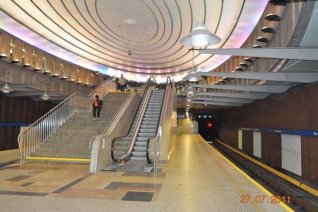 Stacja Plac Wilsona, metro.waw.pl