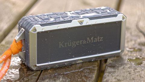 Kruger&Matz Discovery: bezprzewodowy głośnik, idealny na wakacje