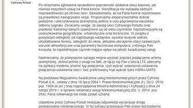 LTE od Cyfrowego Polsatu - miłe złego początki cz.2, ostatnia
