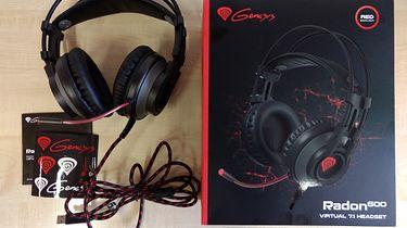 Tanie słuchawki nauszne 7.1 dla graczy. Recenzja Genesis Radon 600 + Konkurs!