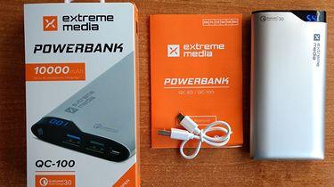 Powakacyjny zestaw akcesoriów od Natec; Extreme Media