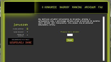 Konkurs-kropka, Firefox i Adblock ;) - W FF nie działa