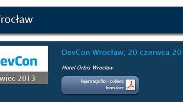 DevCon 20-06-2013 (Wrocław) - słów kilka