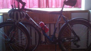 Rowerowe centrum dowodzenia - mój piękniś xD