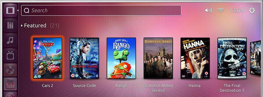 Ubuntu na telewizorze - nowy interfejs oparty o Unity 2d (Qt)