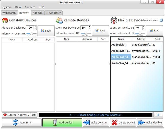 Arado Websearch: interfejs na pewno zaprojektowany przez inżyniera