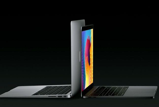 Porównanie wielkości 13-calowego MacBooka Air i nowego 13-calowego MacBooka Pro