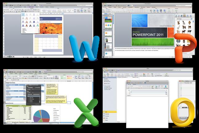 Microsoft Office for Mac 2011 – już nie na Makach z nową wersją macOS-a