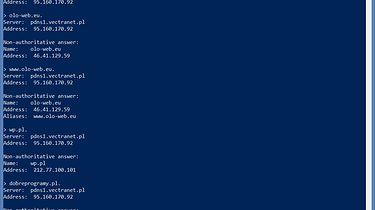 4. DNS - cz. 3 - nslookup i dig (Windows Server 2012)