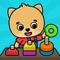 Gry edukacyjne dla maluchów w wieku 2-5 lat icon