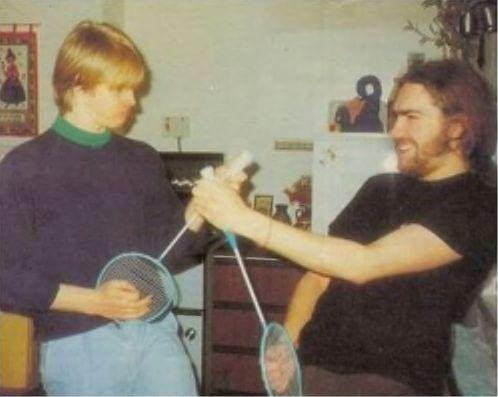 Chris & Jops w 1987 roku.