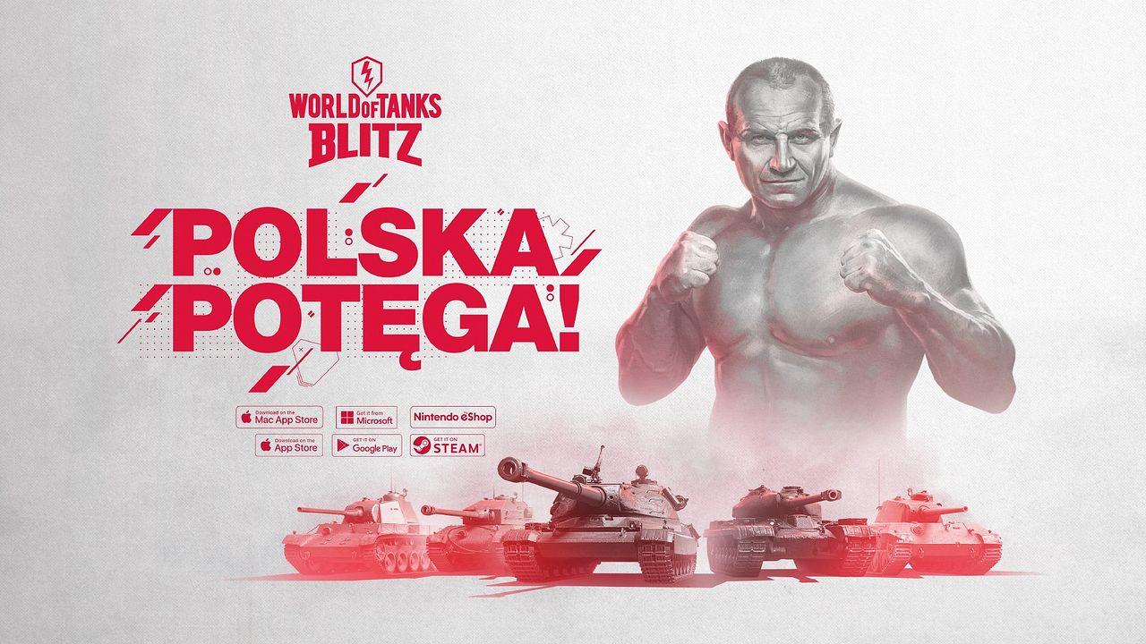 Mariusz Pudzianowski ambasadorem polskich czołgów ciężkich World of Tanks Blitz -