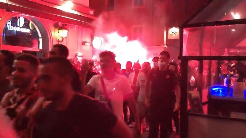 Liga Mistrzów. Francuzi szczęśliwi po porażce... Francuzów. Tak świętowano w Marsylii (wideo)