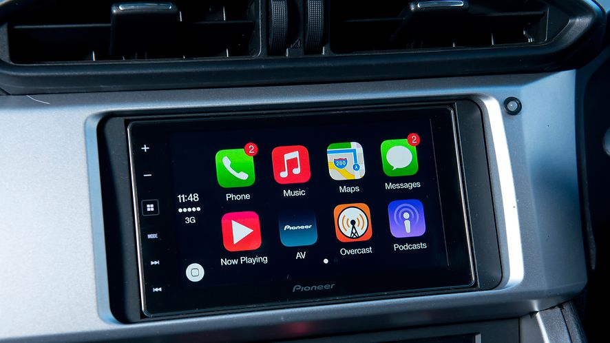 Apple CarPlay obsługuje HERE WeGo, fot. Getty Images