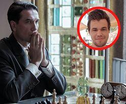 """Magnus Carlsen krytykuje Marcina Dorocińskiego. Szachowy mistrz świata wytyka błędy w serialu """"Gambit Królowej"""""""