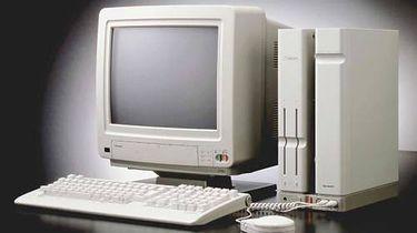 Jeśli Amiga była królową, to królem mógł być tylko Sharp X68K - Sharp X68000 pierwszy model. Występował też w równie pięknej, czarnej wersji.