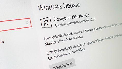 Windows 10 i pierwszy wtorek z łatkami w 2021r. Załatano poważną lukę w Defenderze