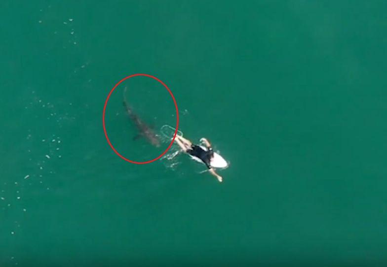 Przerażające nagranie. Akurat przelatywał tamtędy dron