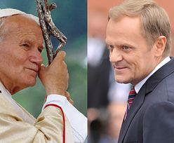 Donald Tusk porównany do Jana Pawła II. Jerzy Urban: Jawi się jak motyl