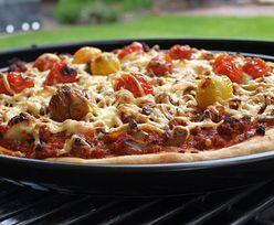 Grillowana pizza. Doskonały pomysł na obiad